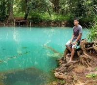 sra keow cave krabi thailand