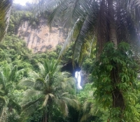 view from resort PN Krabi - Klang Cave