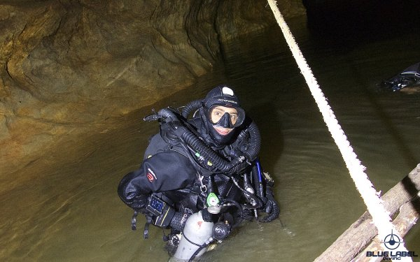 CCR cave and Sidemount cave diving Thailand_5572