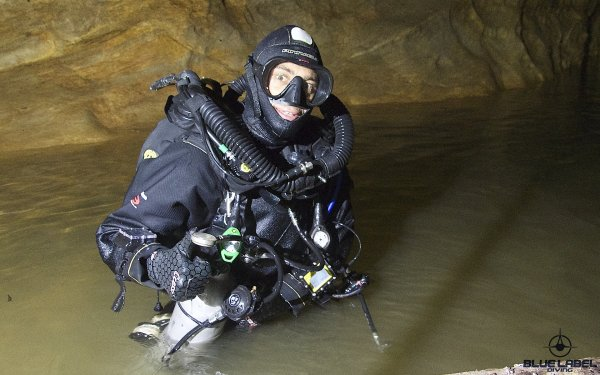 Sidemount and ccr cave diving Thailand_5573
