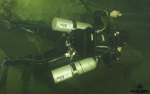 Sidemount cave diving Xdeep Thailand_5432