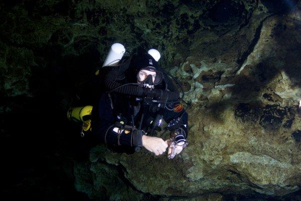 Ben Reymenants Cave Diver