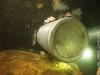Restriction sidemount cave diver
