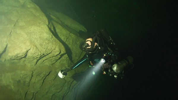 CCR Full Cave courses Thailand