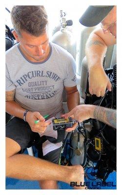 Megalodon Air Diluent diver course Thailand