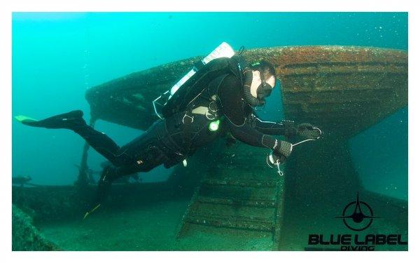 CCR Wreck diving Thailand