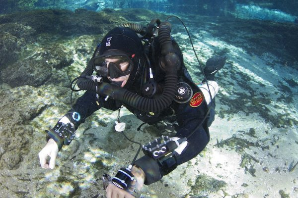 CCR Cave diving Pathfinder