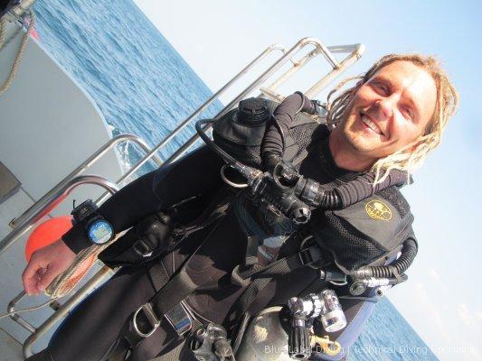 Poseidon CCR diver Indonesia