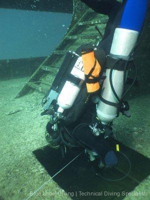 CCR Wreck diving