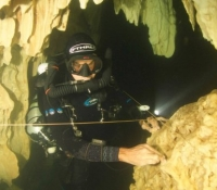 JJ CCR Cave Diver