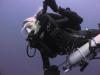 Female tech CCR diver Poseidon