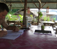 students doing home work