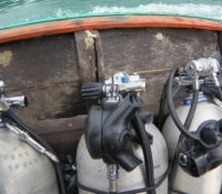 dive equipment stage tanks