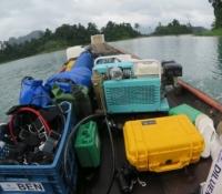 dive equipment boat khoa sok