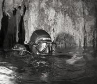Dry area cave khao sok