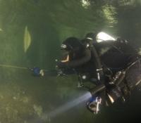 JJ CCR cave diving Thailand