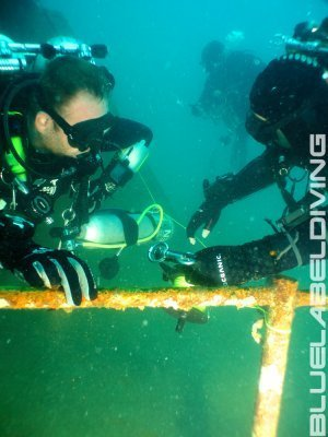 Advanced wreck diving thailand
