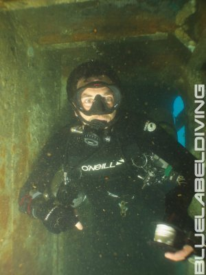 advanced wreck diving skills TDI