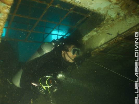 advanced wreck diver skills