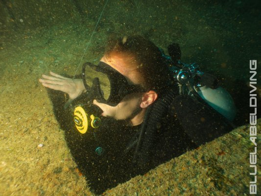 advanced wreck diver skills Thailand
