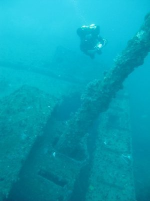 advanced wreck diving Sri lanka