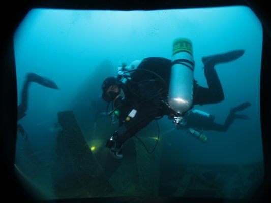 Advanced wreck diving Australia