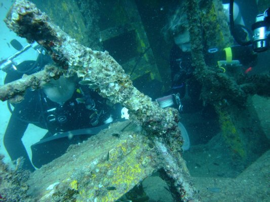 TDI advanced wreck diving