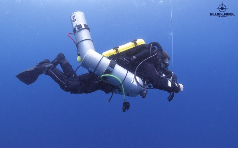 Tri Mix Scuba Gas : Ssi extended range technical diving courses